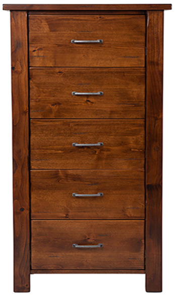 Wasatch Solid Alder 6dr chest